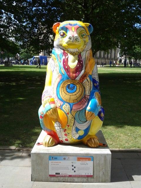 Birmingham Big Sleuth Life Ta'bear'srty Bear