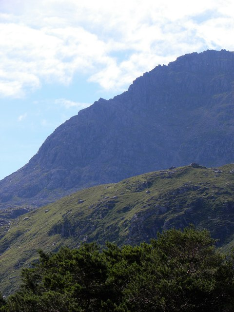 Bristly Ridge from Ogwen Falls