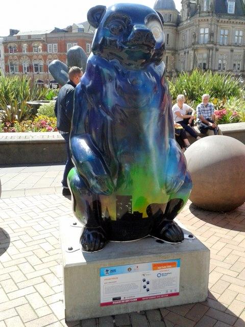 Birmingham Big Sleuth Solar Polar Bear