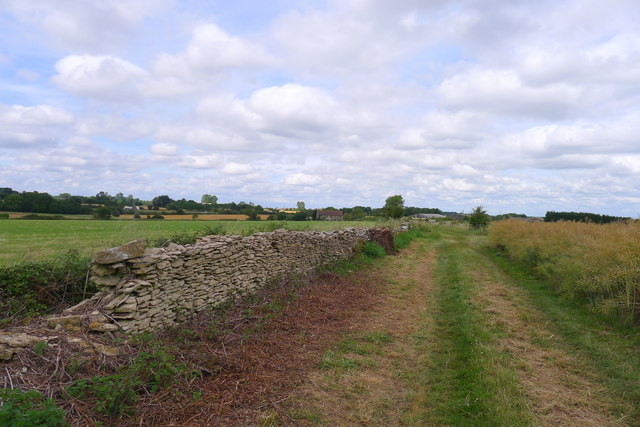 The old dry stone wall