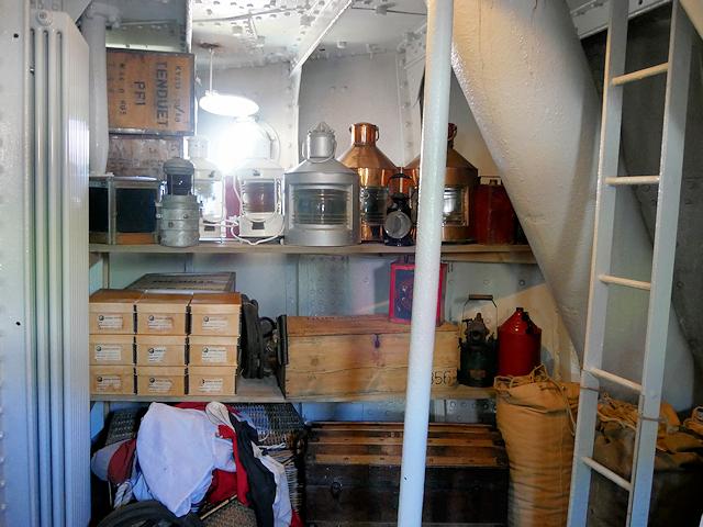Lamp Room, SS Nomadic