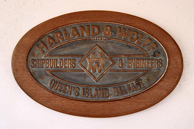 Maker's Plate, SS Nomadic