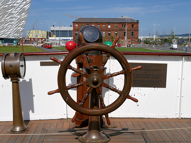 Bridge Deck, SS Nomadic
