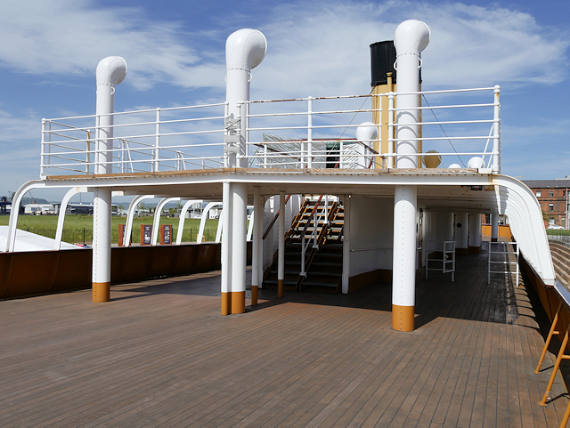 SS Nomadic Upper Deck