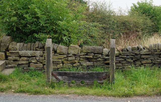 Stocks on Church Lane, Hartshead