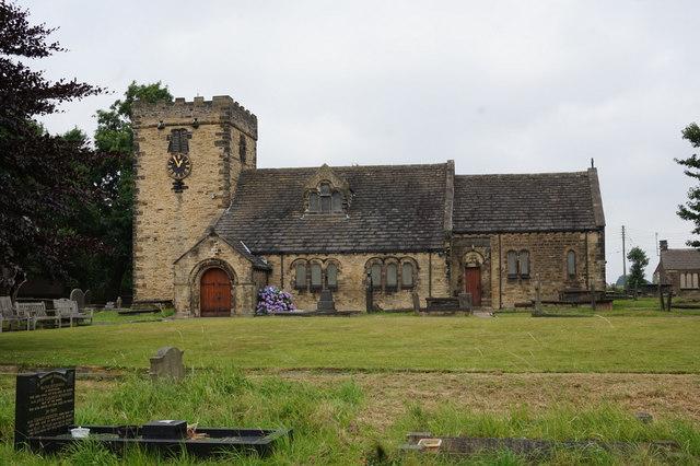 St Peter's Church, Hartshead