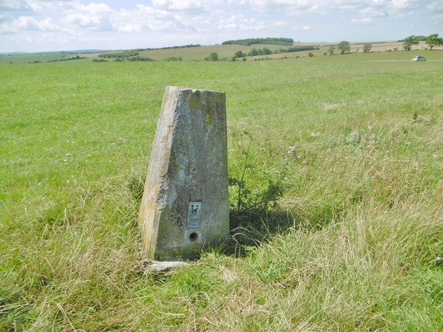 Coulston, trig point