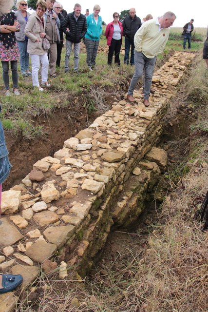 Croxton Kerrial 12thC Medieval Manor House: excavations (6)
