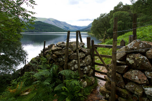 Gate near Red Beck