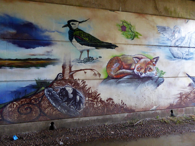 Artwork under the A30