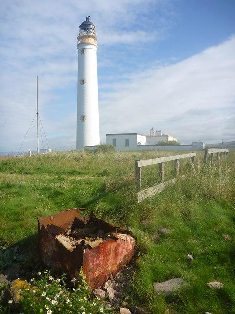 Coastal East Lothian : Rust Never Sleeps