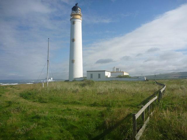 Coastal East Lothian : Barns Ness Lighthouse