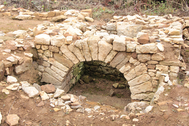 Croxton Kerrial 12thC Medieval Manor House: excavations (9)