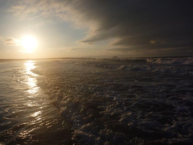 Coastal East Lothian : Belhaven Bay