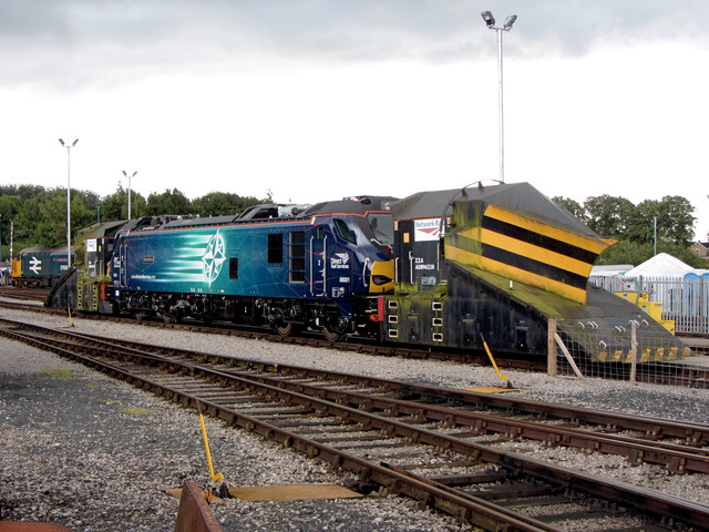 DRS 2017 open day at Kingmoor depot