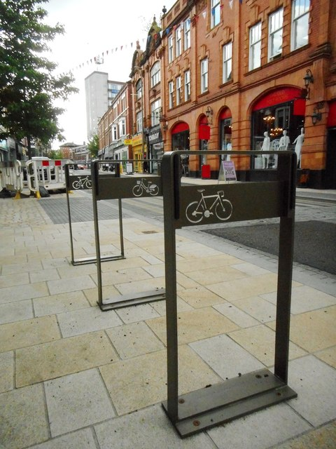 Cycle stands, Stamford New Road