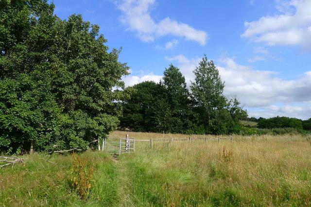 The Cotswold Way approaching Chapel lane, Old Sodbury