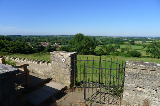 Viewpoint from the Church of St John the Baptist, Old Sodbury