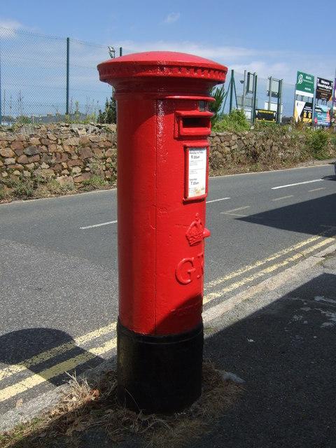 George V postbox on Tregenver Road, Falmouth