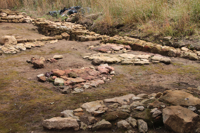 Croxton Kerrial 12thC Medieval Manor House: excavations (11)