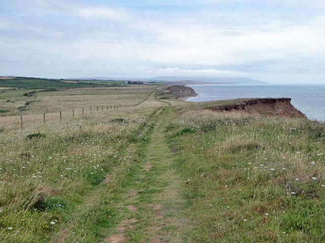 Coastal path looking east