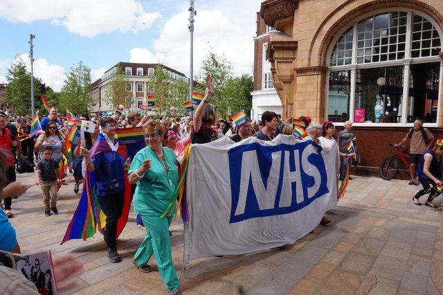 Hull Gay Pride 2017 Parade