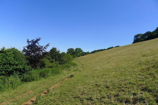 The Cotswold escarpment north of Old Sodbury