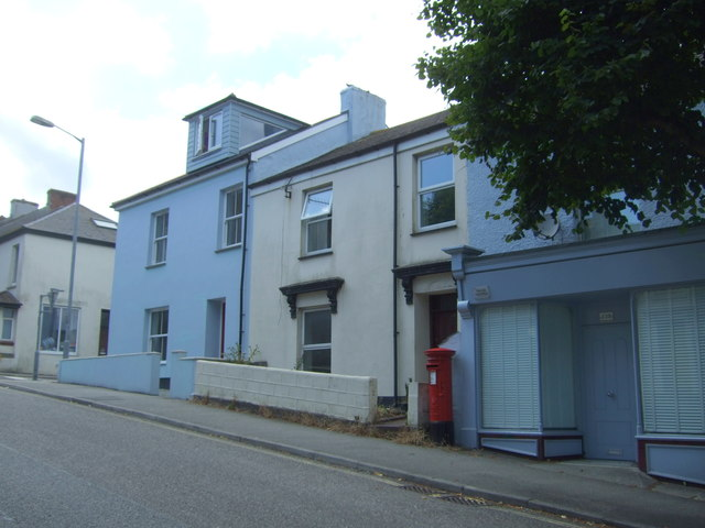 House and former Post Office on Killigrew Street, Falmouth