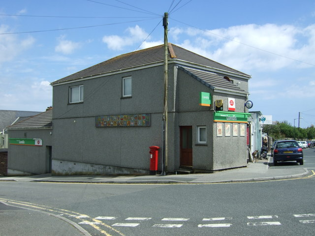 Post Office on Glasney Road, Falmouth