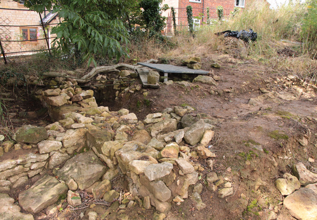 Croxton Kerrial 12thC Medieval Manor House: excavations (13)