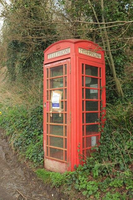 Telephone box, Powerstock