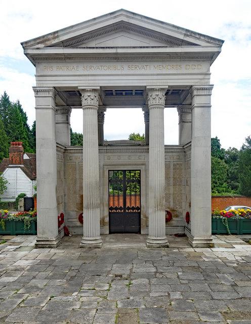 Gate of Honour, Mill Hill School