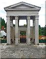 TQ2292 : Gate of Honour, Mill Hill School by Julian Osley