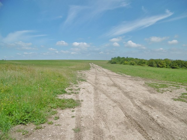 Erlestoke, farm track