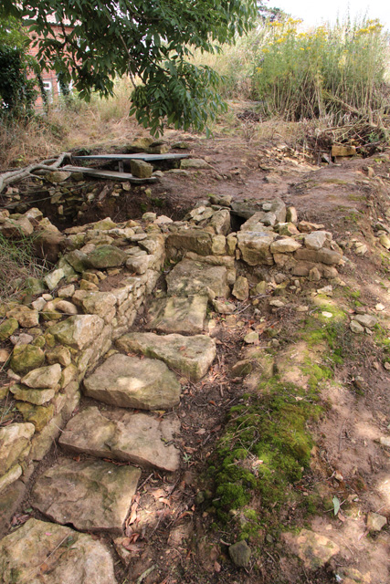 Croxton Kerrial 12thC Medieval Manor House: excavations (14)
