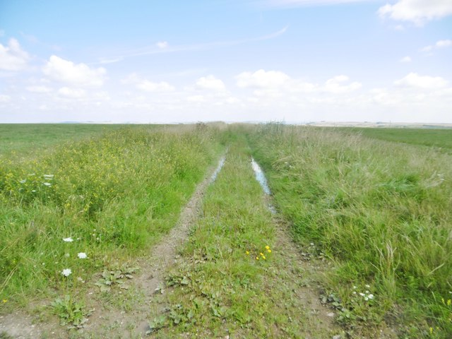 Little Cheverell, farm track