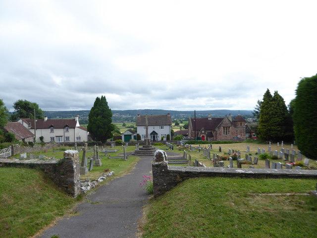 All Saints, Wraxall: churchyard (d)
