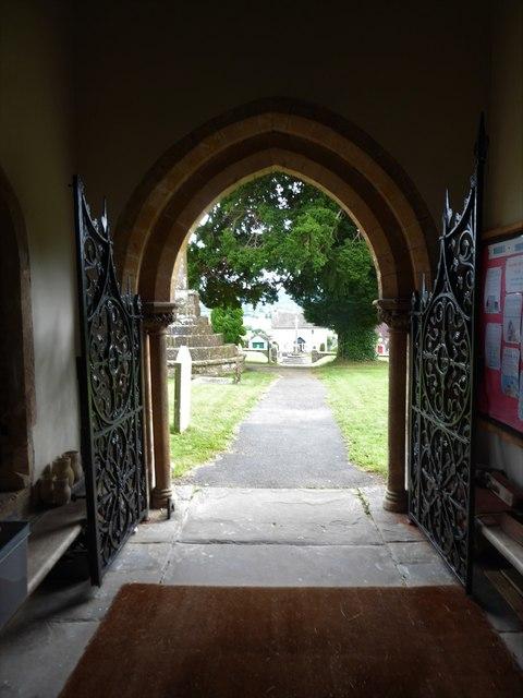 All Saints, Wraxall: churchyard (e)
