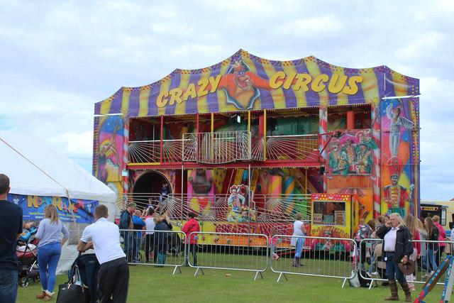 Crazy Circus, Stranraer Agricultural Show