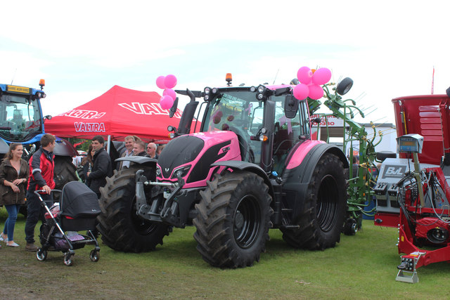 Pink Tractor, Stranraer Agricultural Show