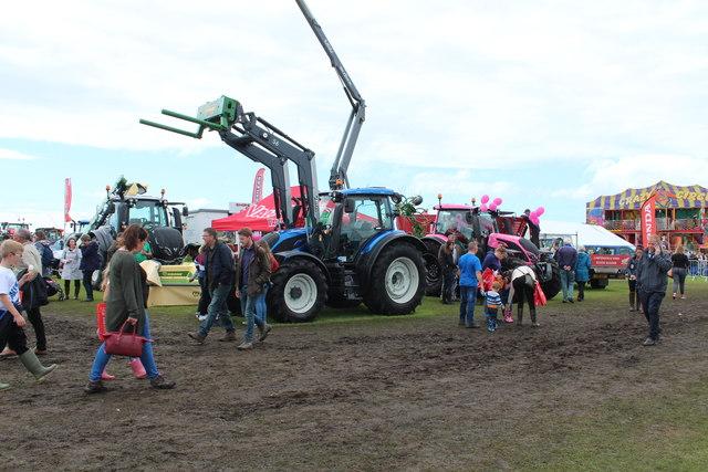 Tractors, Stranraer Agricultural Show