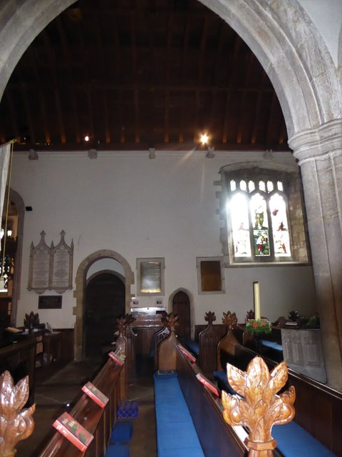 Inside All Saints, Wraxall (a)