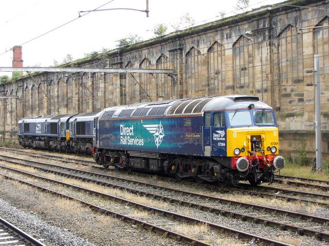 DRS locomotives at Carlisle