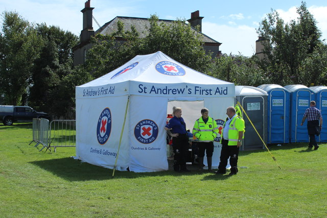 First Aid Post, Stranraer Agricultural Show