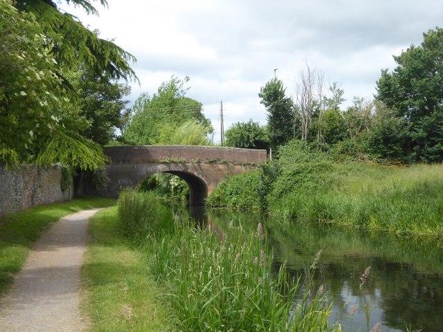 Bathpool Bridge over Bridgwater and Taunton Canal