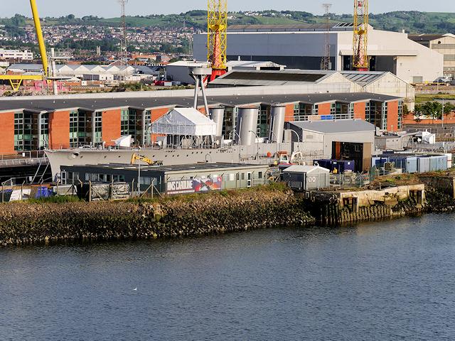 Alexandra Dock, HMS Caroline