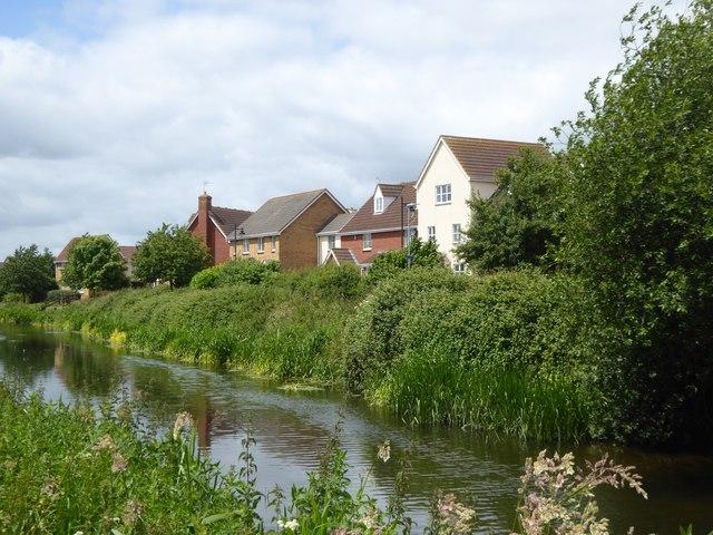 Housing estate at Maidenbrook