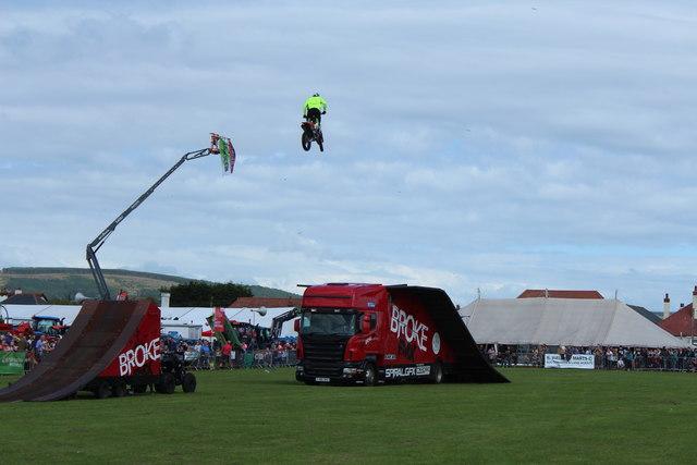 Stunt Bike, Stranraer Agricultural Show