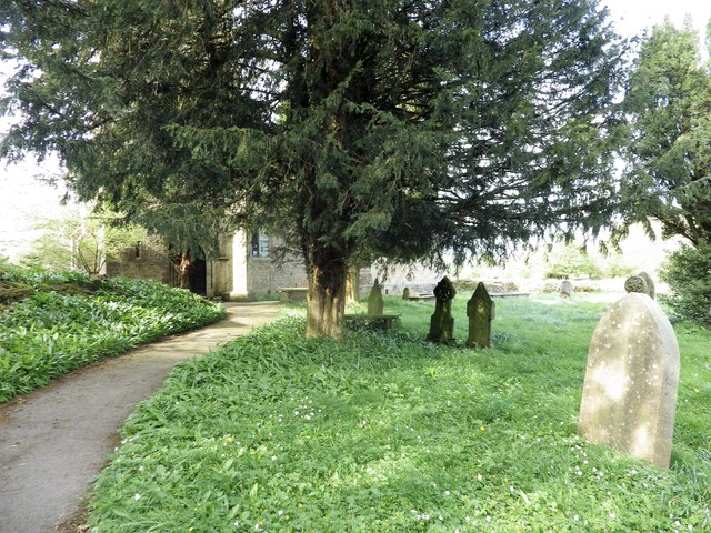 Path in the churchyard