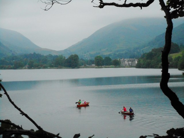 Canoes on Grasmere
